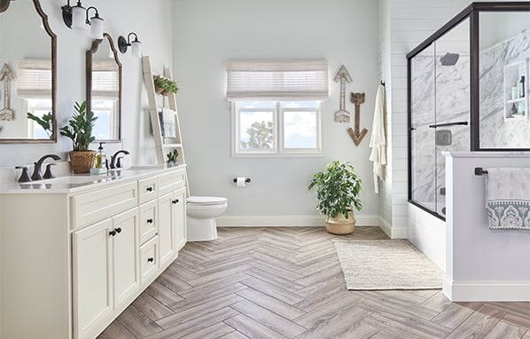 bathroom makeover in lincoln, ne